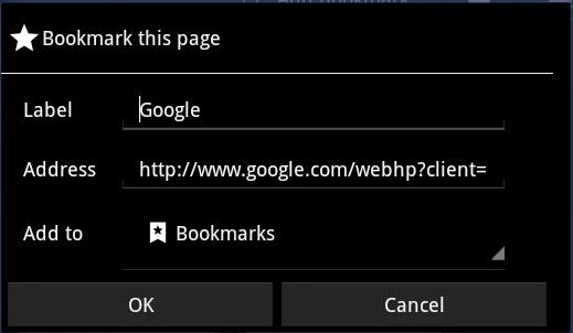 how to use bookmarks Lenovo Ideapad K1