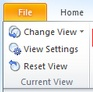outlook messages disappear