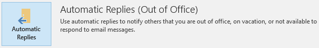 how to set up out of office assistant in outlook