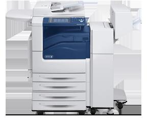 Xerox WorkCentre 7454 Won't Print Large Jobs