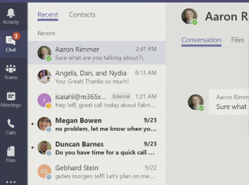 microsoft teams for nonprofits chat